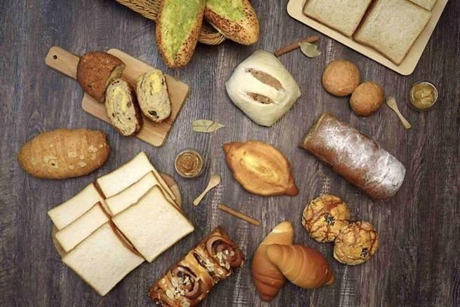 ▲花比麵包坊職人手作澎湃麵包箱。 圖:台北花園大酒店╱提供