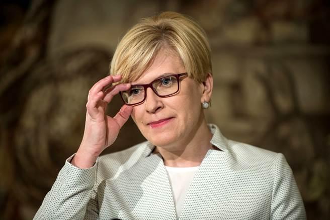 立陶宛總理席莫尼特(Ingrida Simonyte)22日宣布,將捐贈台灣2萬劑AZ疫苗。(資料照/TPG、達志影像)
