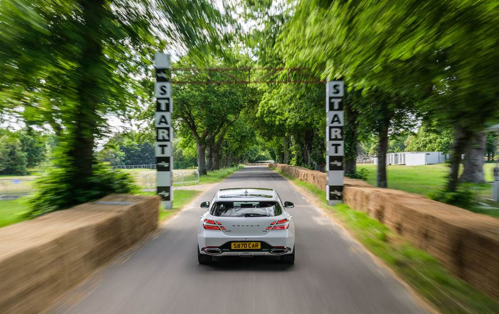 GENESIS 成為 2021 Goodwood Festival of Speed 官方贊助商、帶來 G70 Shooting Brake 首演