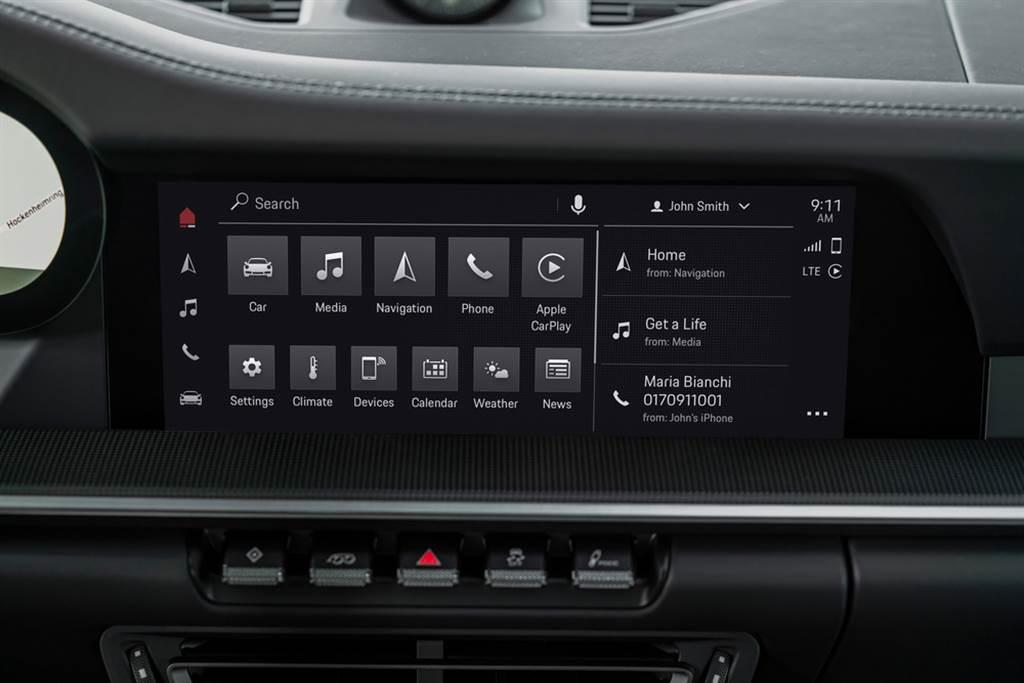 全新PCM 6.0系統,新增支援Android Auto。