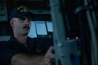 美艦通過台灣海峽北駛 國防部全程掌握