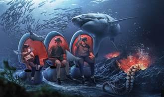 VR海底隧道、大型挑高水缸 潮境智能海洋館10月開幕