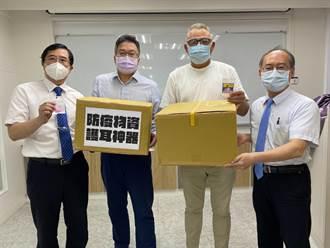 護耳神器舒適減壓  林耕仁捐贈新竹醫事人員