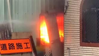 台東市區驚傳鐵皮屋火警 所幸無人傷亡