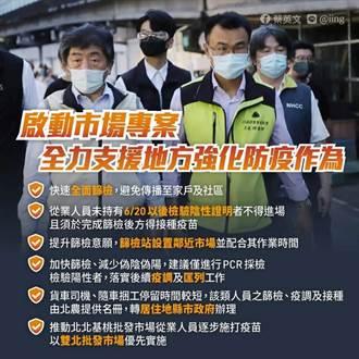 三級警戒宣布延長 蔡英文:還沒有到可以放鬆的程度