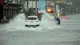 大雨特報雨量超驚人 鄭明典一張圖曝這區被灌爆