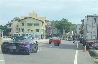 GTR法拉利藍寶堅尼保時捷等8豪車 疑夜衝台3線競速