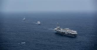 駐日航艦被迫離開西太平洋 美小動作牽制中國大陸
