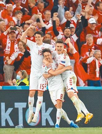 丹麥逆襲 退俄闖16強