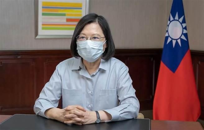 5月疫情大爆發,台灣民意基金會今(23日)公布最新民調顯示,蔡英文的總統聲望僅4成3,創23個月來新低。(資料照)