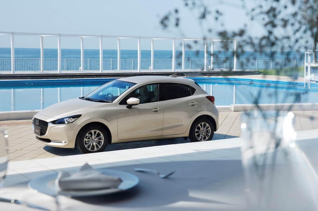 1.5 SKY-G 引擎壓縮比提高、燃費性能提升 6.8%,Mazda 2 新年式商品改良亮相!