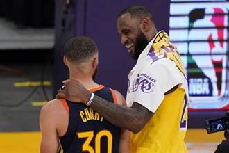 NBA》詹皇想挖柯瑞去湖人?勇士老闆嗆絕無可能