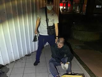 住宅大盜「校正回歸」改偷店家 頭份派出所長率員追捕負傷