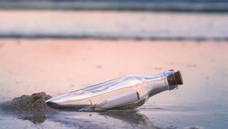 她潛水撿到1世紀前的瓶中信!10萬人瘋傳竟找到主人