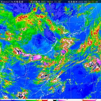 明起鋒面北抬 西半部慎防大雨「薔琵」對台無影響