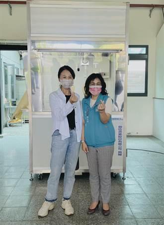 支援前線!嘉林集團捐2台檢疫亭 還協助在地農產品進軍101
