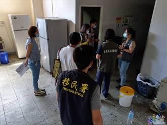 台南優先複查混居移工宿舍 14處限期改善