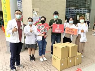 中華國際領袖協會挺醫護 捐贈gonna餐盒至亞東醫院、聯合醫院