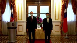 AIT正副处长离任在即 外交部颁赠睦谊外交奖章