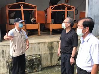 官田遇全國第2高降雨 渡拔里抽水站發揮功用