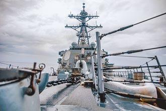 美驅逐艦經台海 拜登上任第6次