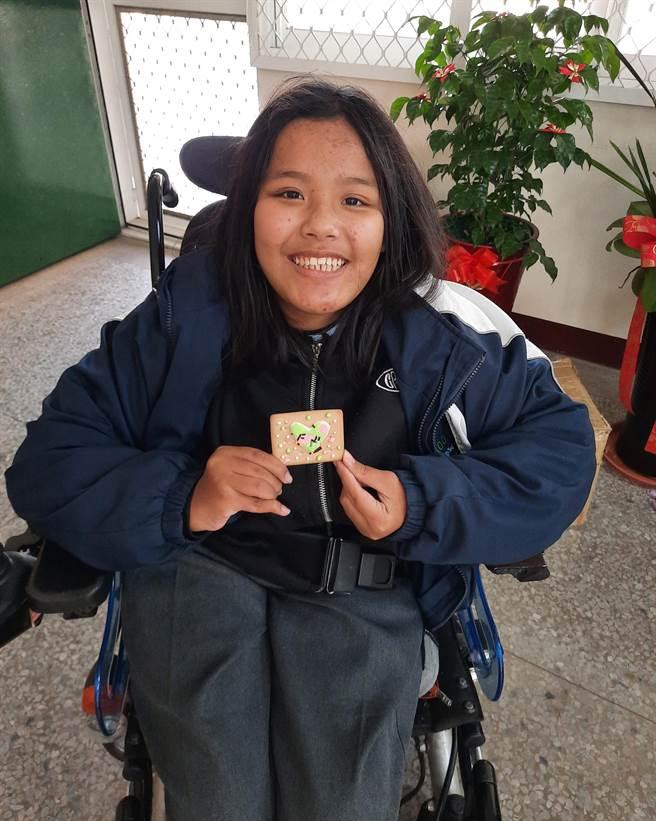 臺中市立公明國民中學林詩閔,輪椅天使的生命之歌。(圖/教育部國教署提供)