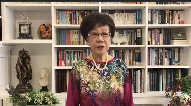 呂秀蓮:美兩團體致函蔡總統願助疫苗,且有特殊管道連繫藥廠。呂秀蓮臉書截圖