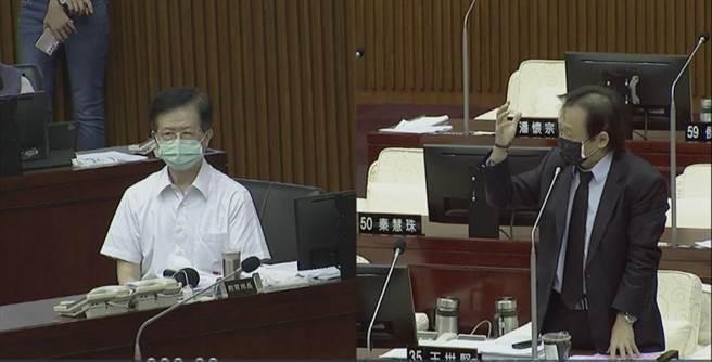 台北市議會今排定警政衛生委員會。(截圖自網路)