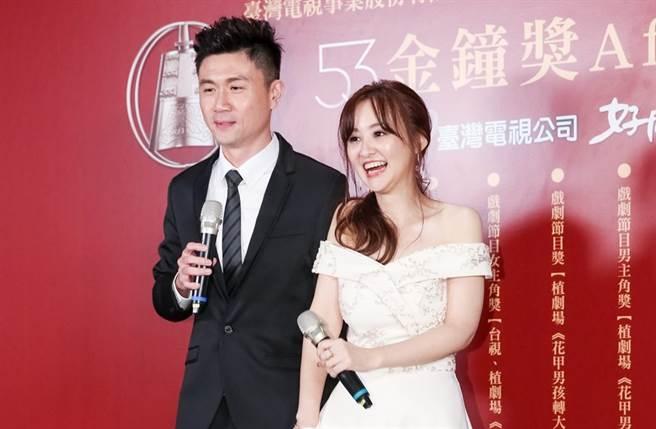 陳家頤和王李中彥交往8年,於2019年結婚。(圖/中時資料照)