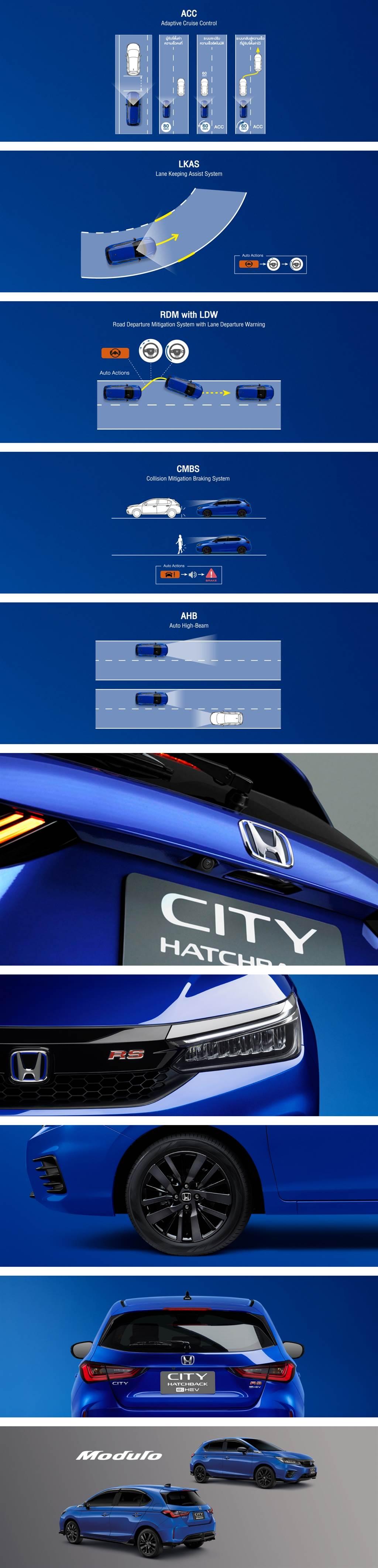 總算迎來更節能的 i-MMD 油電動力,Honda City Hatchback e:HEV RS 規格泰國發表!