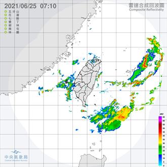 今起至月底  吳德榮:中南部仍有劇烈天氣發生的條件