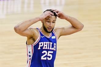 NBA》死不放棄?沃神爆七六人仍把班西蒙斯當核心