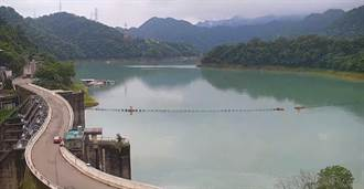 不能輸翡翠水庫 石門水庫進帳1000萬噸 蓄水率破60%