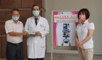 尋求各界善心 何欣純助4醫院強化抗疫設備