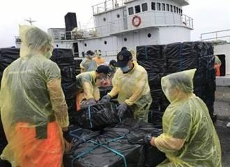 高雄港開港百年來第2多 嘉義海巡查獲497萬包走私菸