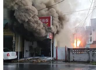 高雄自助洗衣店火警 爆炸聲響嚇壞民眾
