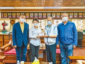 台中清水紫雲巖 捐2千萬防疫金