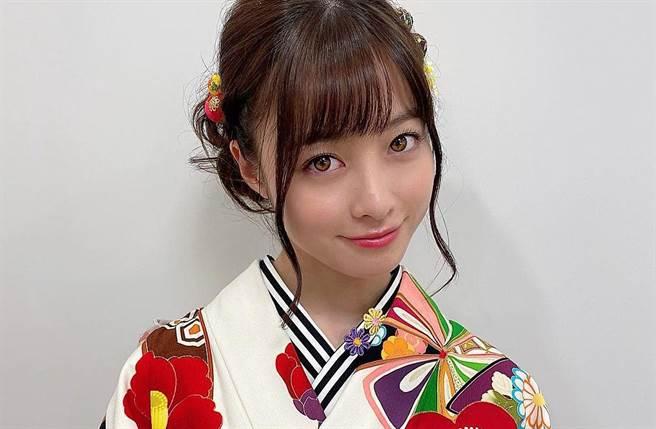 日本千年一遇美少女橋本環奈。(取自橋本環奈IG)