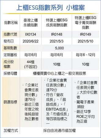 臺灣上櫃永續指數 今發布