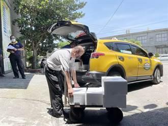 台中小黃貨送到府 疫情期間加入宅配及外送餐點行列