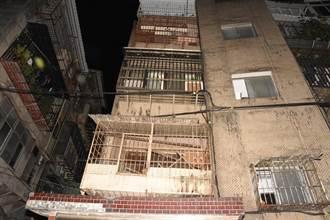 萬華公寓飄屍臭 鄰居急報案 破門驚見8旬翁陳屍屋內