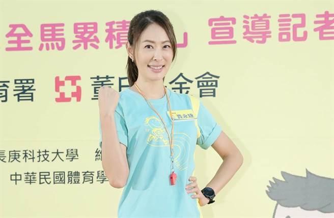 賈永婕被網友封為抗疫女神。(圖/中時資料照)