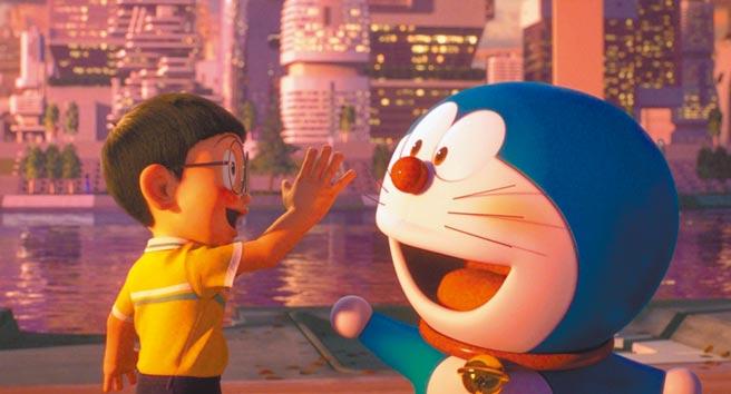 《STAND BY ME 哆啦A夢2》劇情感人,帶給觀眾暖心正能量。(車庫娛樂提供)