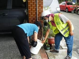 中市府環保局與民聯手滅孑 清除逾1萬個易積水容器