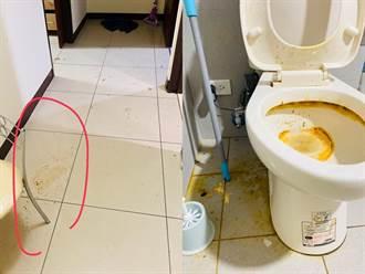 房客稱「有鬼」突搬離消失 房東破門驚見滿地屎尿嚇壞