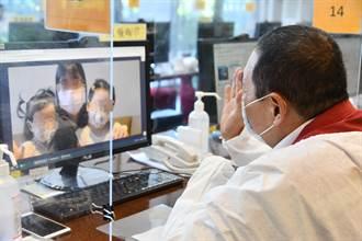 侯友宜視察虛擬病房 App監看患者狀況 社區大型感染可發揮功能
