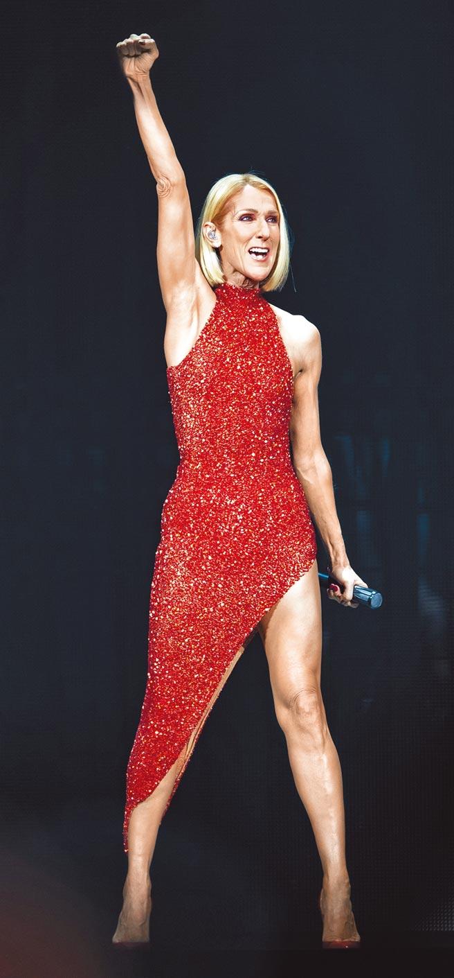 席琳狄翁的「勇氣」巡演因疫情延宕後,終於將在8月展開北美行程。(美聯社)