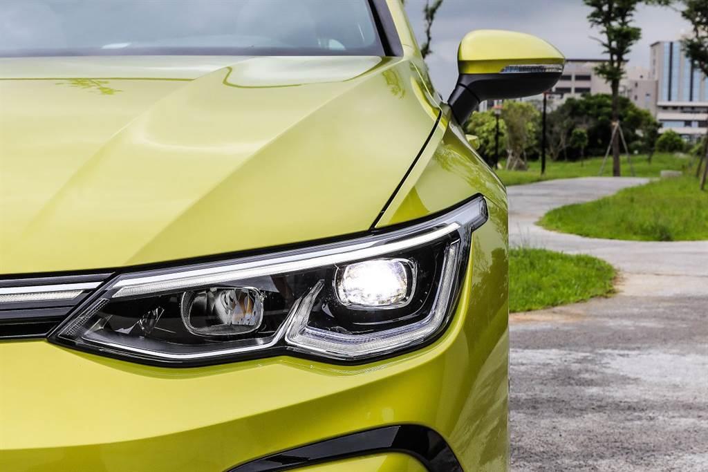 VW最新科技LED大燈ID Light也配置在280與GTi車系上。