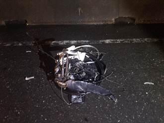 高雄男夜騎單車逆向闖國道 遭車撞擊輾壓當場亡