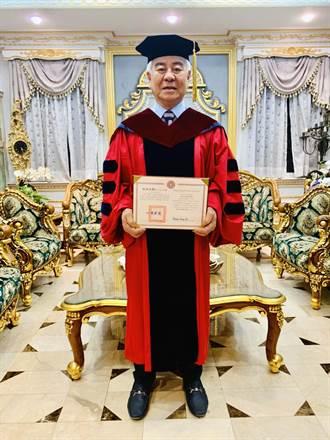 78歲取得博士學位 政壇長青樹郭榮豐實踐終身學習